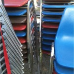 Chairs---Samsonite-plastic-