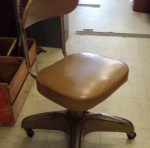 1950s office industrial propellor base cool