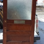 EDWARDIAN ANTIQUE LABORATORY SCIENCE DOOR