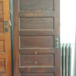 EDWARDIAN ANTIQUE LABORATORY DOOR