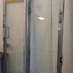 commercial retail entrance doors double pait