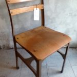 MOLDED PLYWOOD & STEEL CHAIR [STYLE #2]