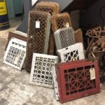 ANTIQUE & VINTAGE HEATING GRATES AND VENT COVERS
