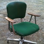 industrial 1950s 1960s office furniture steel
