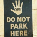 stop-do-not-park-here-sign