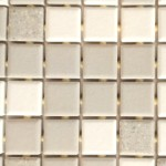 """GREY AND WHITE 1"""" TILE DETAIL"""