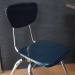 MIDCENTURY WOODITE INDUSTRIAL SCHOOL DINING SEATING