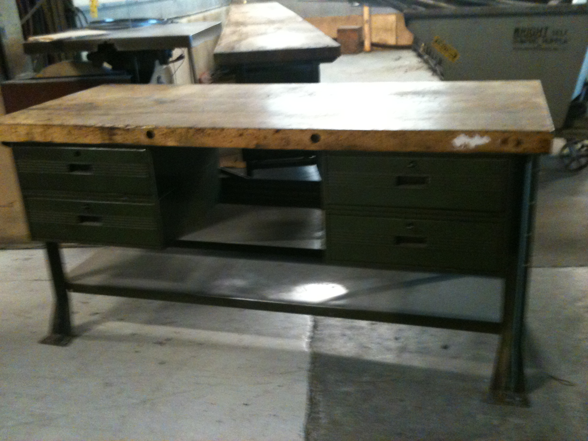 1940 39 S Metal Shop Work Bench Williams Design
