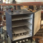 vintage laboratory oven asbestos lined