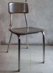 HEYWOODITE CHOCOLATE BROWN CHAIR