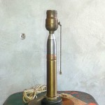 TRENCH ART TABLE LAMP