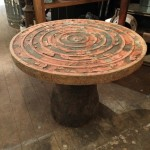 Manhole Cover Custom Coffee Table
