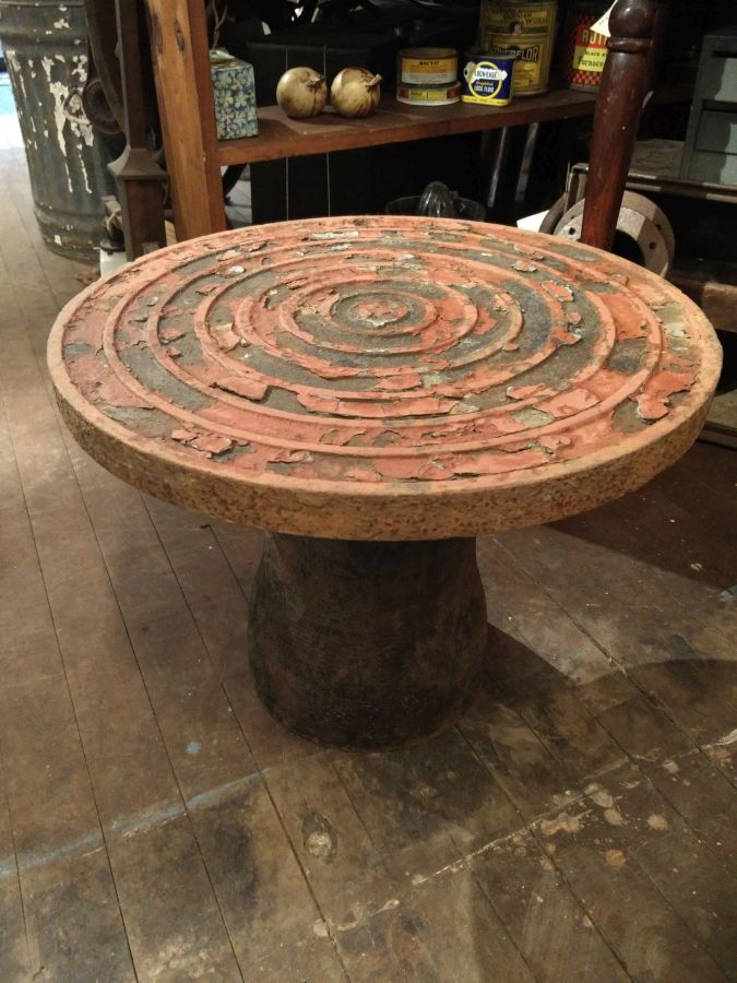 Manhole Cover End Table Williams Design