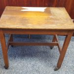 ANTIQUE TYPEWRITER TABLE 3