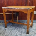 ANTIQUE TYPEWRITER TABLE