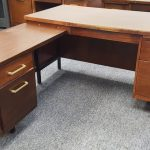 MCM L SHAPED DESK